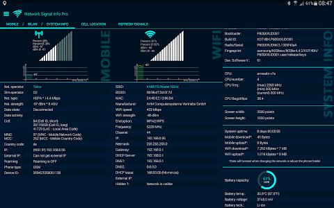 Network Signal Info v3.03.03 (Ad-free)