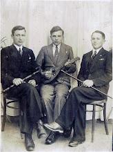 Photo: Tadeusz Mroczkowski, Bronisław Tokarz, M. Kindrat. 31.10.1934