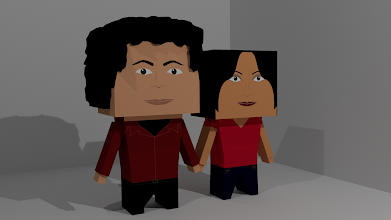 Photo: Modelo 3D - Nosotros - Blender 3D