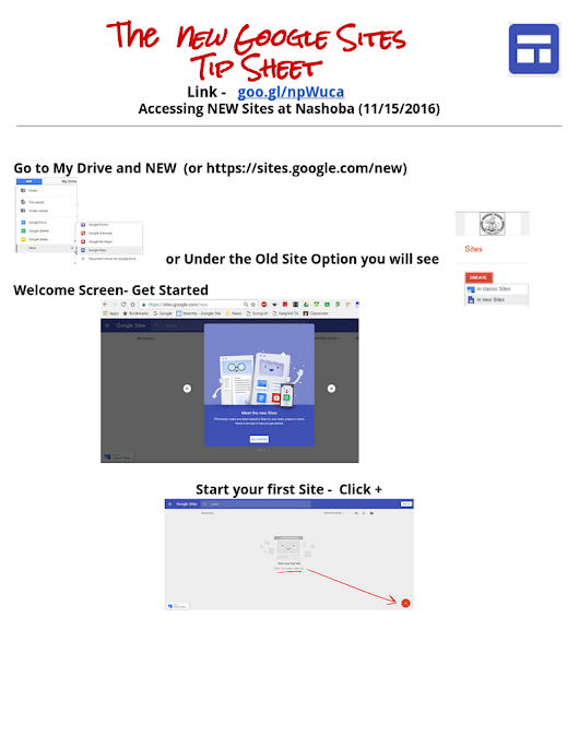 NEW Google Sites Cheat Sheet from Nov 2016_mm