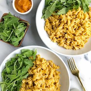 5-ingredient Creamy Squash Pasta (vegan + gluten-free).
