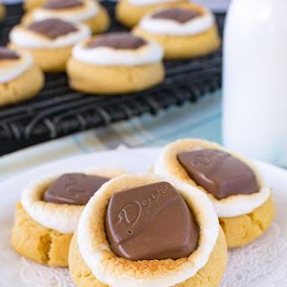 Peanut Butter Fluffernutter Cookies.