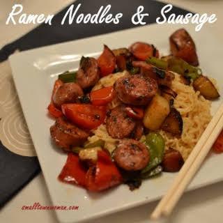 Ramen Noodles Sausage Recipes.