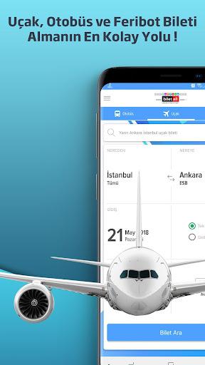 Biletall I Otobüs ve Uçak Bileti 4.2.7 screenshots 1