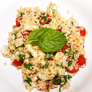 Healthy Feta Quinoa Salad