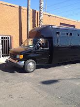 Photo: 24 Passenger Limo Party Bus SunshineLimoService.com Eugene Oregon 541 344-5466