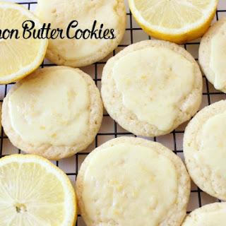 Lemon Butter Drop Cookies Recipes