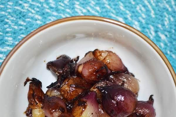 Balsamic Glazed Pearl Onions Recipe