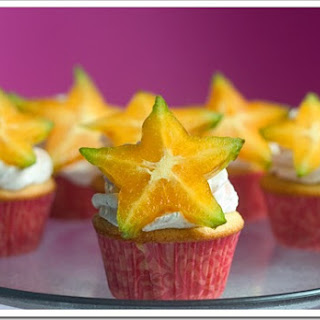 Star-Berry Cupcakes.