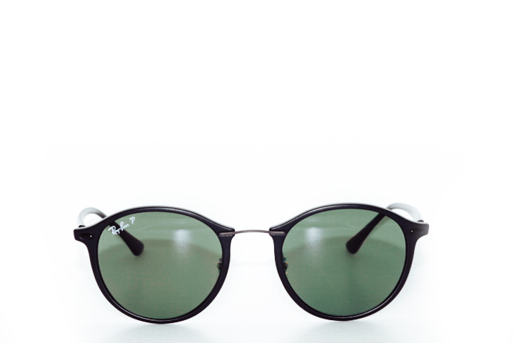 Ray Ban Round Lightray Black