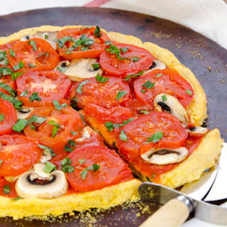 Polenta Pizza Crust Recipe