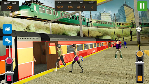 City Train Driver Simulator 2019: Free Train Games  screenshots 8