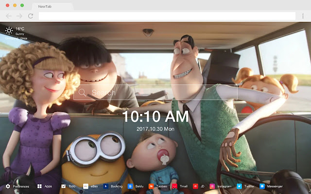 Minions  Popular Movies New Tab HD Themes