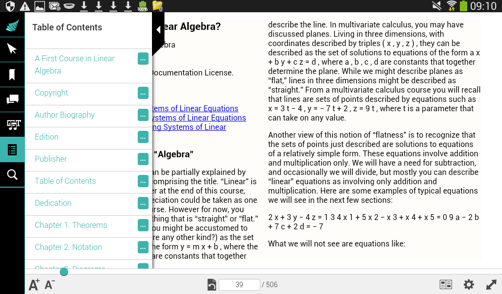Active Textbook 2.0- screenshot