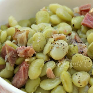 Southern Style Butterbeans - Baby Lima Beans.
