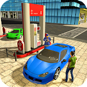 Highway Gas Station & Car Wash Game