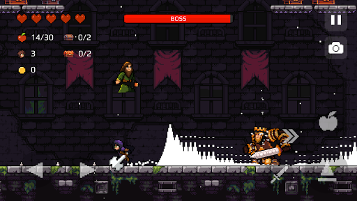 Apple Knight: Action Platformer  screenshots 1