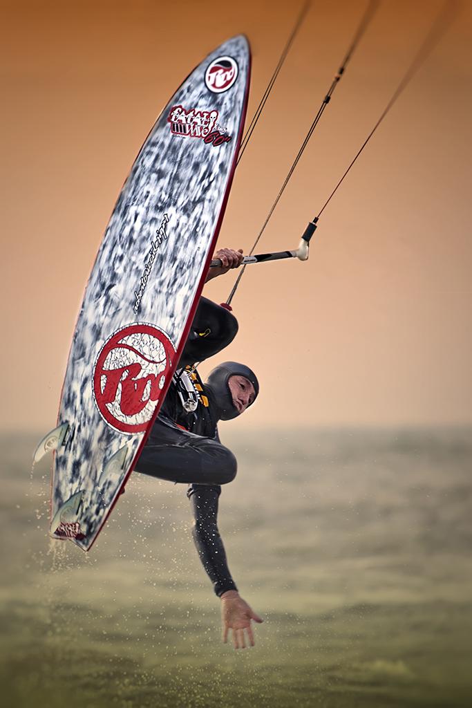Kite jumping di Samuele Tronchi