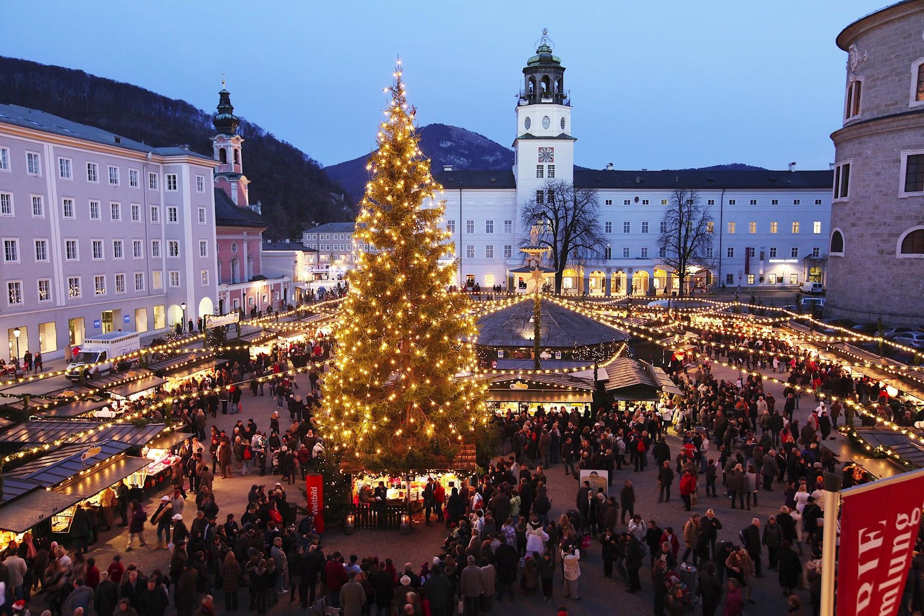 Salzburger Christkindlmarkt Austria Germany