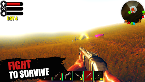 Just Survive: Realistic Sandbox Survival Simulator  captures d'écran 1
