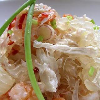 Prawn and Chicken Pomelo Salad.