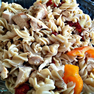 Balsamic Pasta Salad Sun Dried Tomatoes Recipes