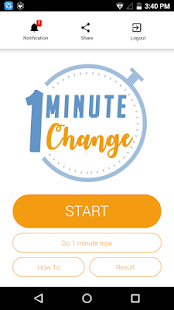 One Minute Change- screenshot thumbnail