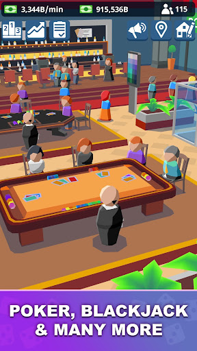 Idle Casino Manager - Tycoon Simulator apkmr screenshots 2