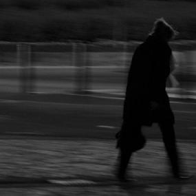 on the way by Renato Dibelčar - People Street & Candids ( woman, slovenia, outdoor, street, maribor, night, people, city )