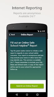 Safe School Helpline- screenshot thumbnail