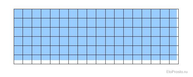 Расчет количества плитки на квадратный метр