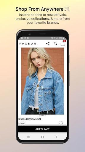 pacsun screenshot 1