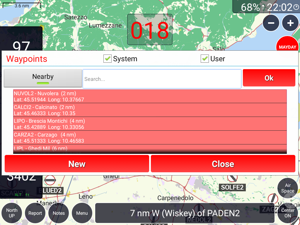 GPS Air Navigator- screenshot