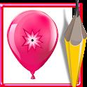 Balloon pop game icon
