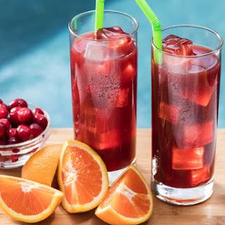 Orange-Cranberry Sweet Iced Tea Cocktail Recipe