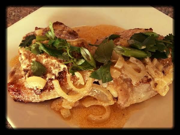 Creamy Hungarian Paprika Chicken Thighs Recipe