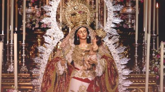 La Virgen del Rosario saldrá a la calle el 9 de octubre.