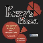 Logo for Kozy's Pizza & Pub
