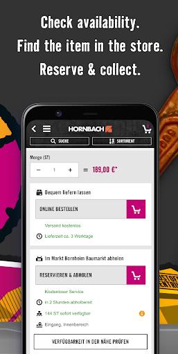 HORNBACH screenshot 5