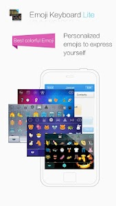 Emoji Keyboard Lite Kika Free screenshot 0