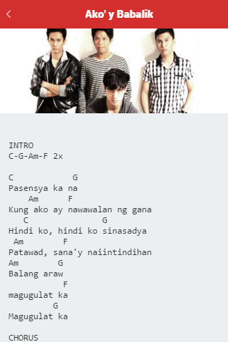Guitar guitar chords your song parokya : FREE OPM Chords version3 Download