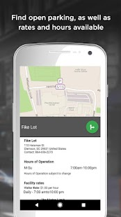 Parker, Find available parking- screenshot thumbnail
