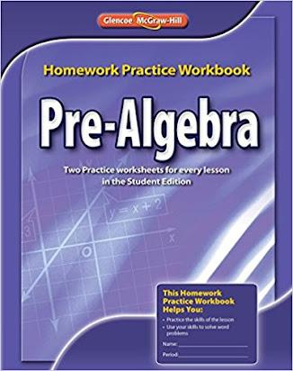 Homework practice workbook pre algebra glencoe