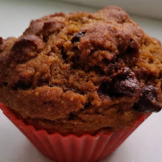 Happy Halloween with Pumpkin Muffins (High-Protein, Low Sugar).