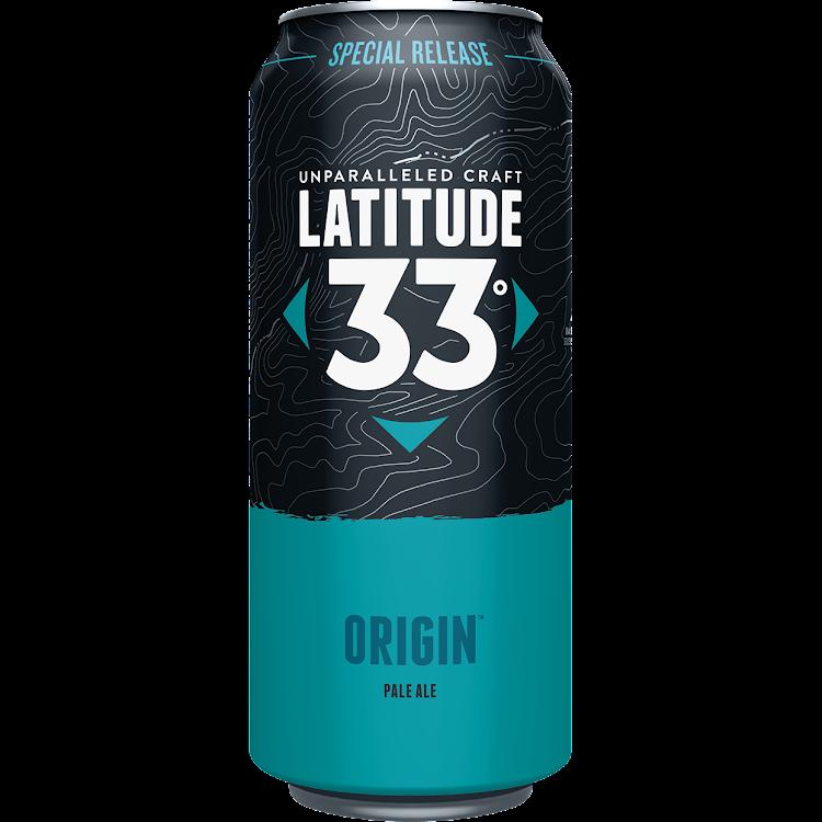 Logo of Latitude 33 Origin Pale Ale
