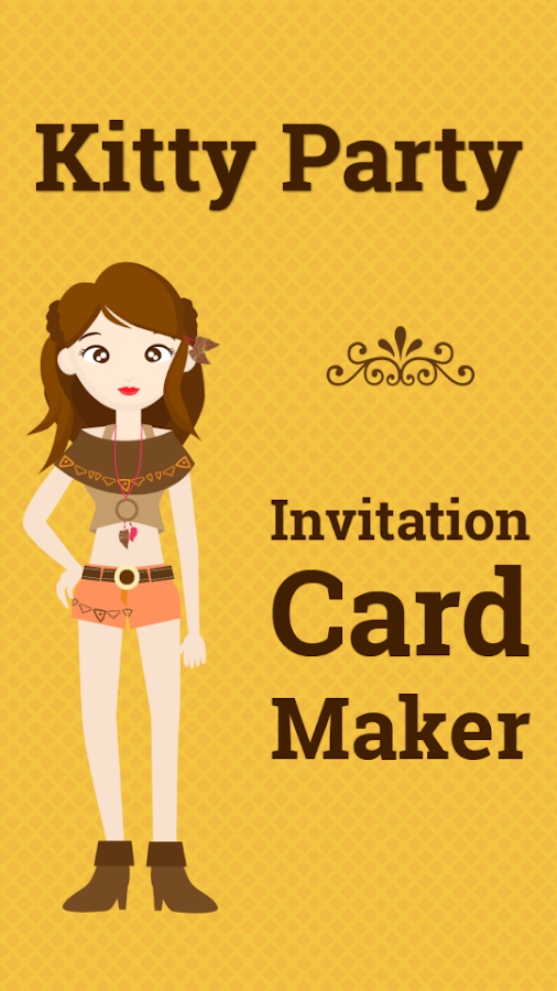 Kitty Party Invitation Cards Android Apps on Google Play – Party Invitation App