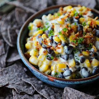 Slow-Cooker Black Bean Bacon Corn Dip