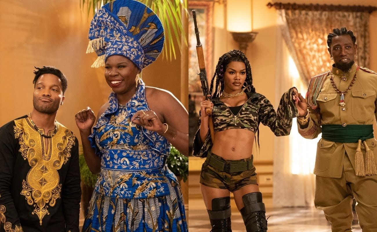 Coming 2 America' Reveals Leslie Jones As Mother Of Akeem's Son, Wesley  Snipes And Teyana Taylor As The Izzis - SHADOW & ACT