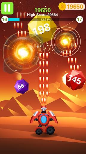 Rock Blast - Fire Ball  captures d'écran 1