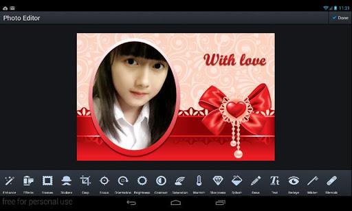Love And Flower Frames